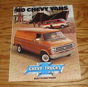 1972 Chevrolet Sportvan Chevy Van Deluxe Sales Brochure