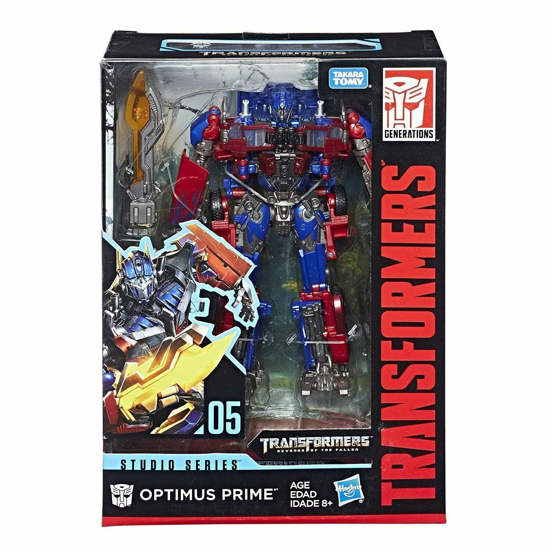 Transformers Hasbro Studio Series Voyager redF SS05 Optimus Prime NEW