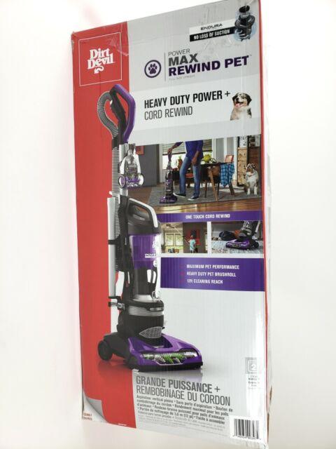 Dirt Devil Power Max Pet Bagless Upright Vacuum Cleaner Heavy Duty Power UD70187