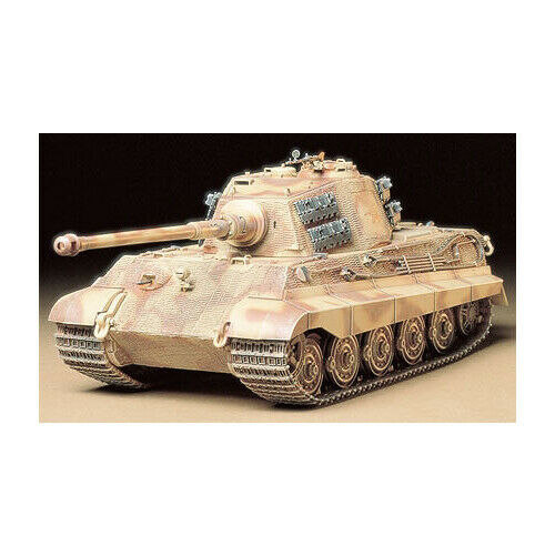 35164 Tamiya King Tiger Prod. Turret 1 35th Plastic Kit 1 35 Military