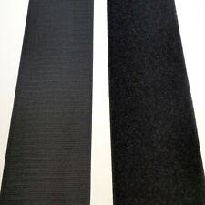"5 Feet VELCRO® BRAND Hook and Loop Fastener 2/"" IRON ON Type Black"