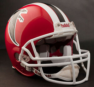 release date b4b51 f5573 Details about ATLANTA FALCONS 1978-1983 Riddell AUTHENTIC Throwback  Football Helmet NFL