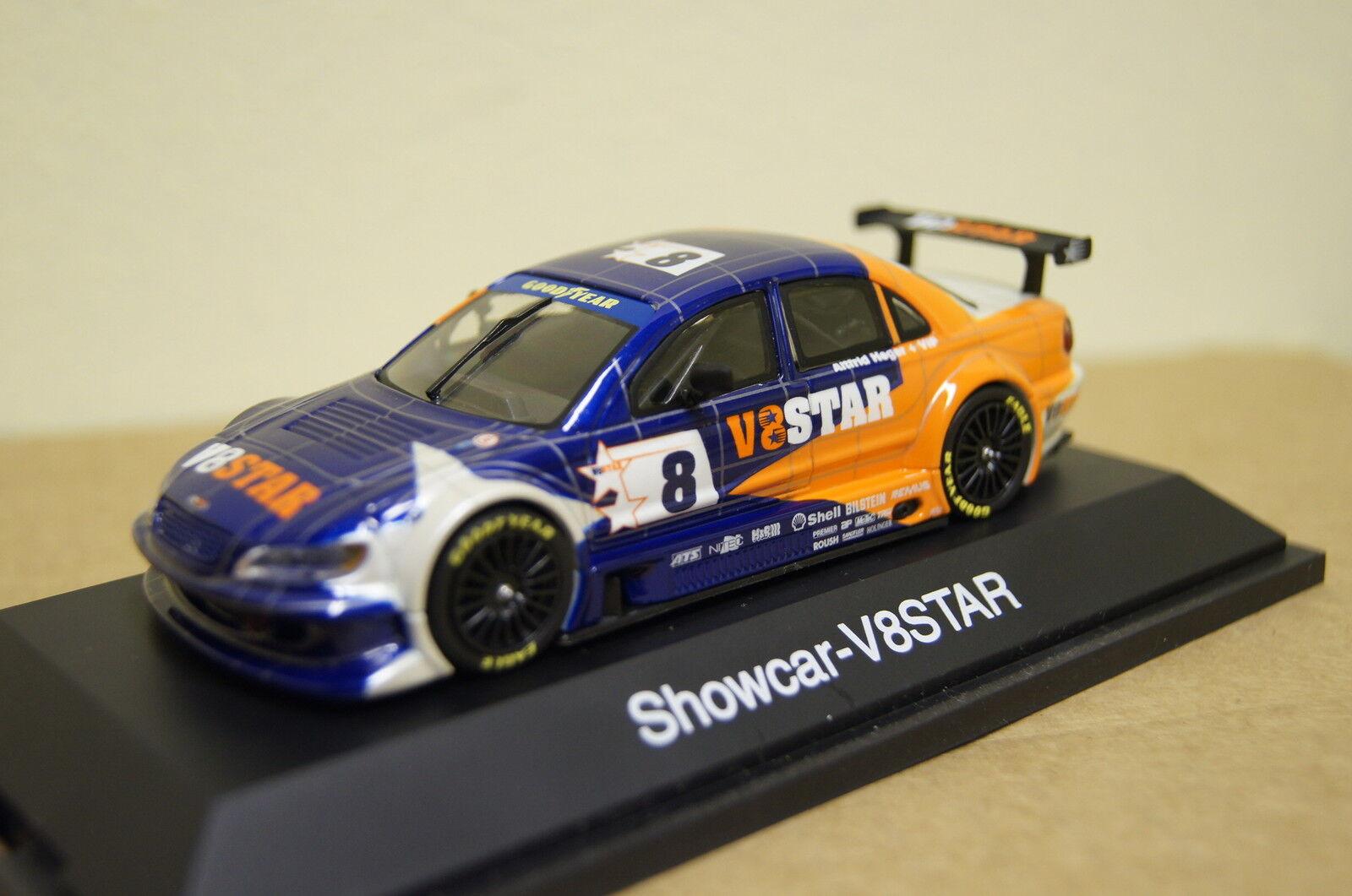 V8 star 2002  showcar   8 bleu-Orange 1 43 schuco NOUVEAU & OVP 4823