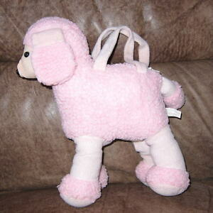Image Is Loading Machine Wash Plush 039 S Pink Poodle