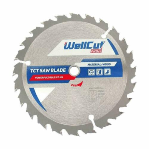 5903R Pack of 2 WellCut TCT Saw Blade Profi 235mm x 30T x 35mm Bore For DW383