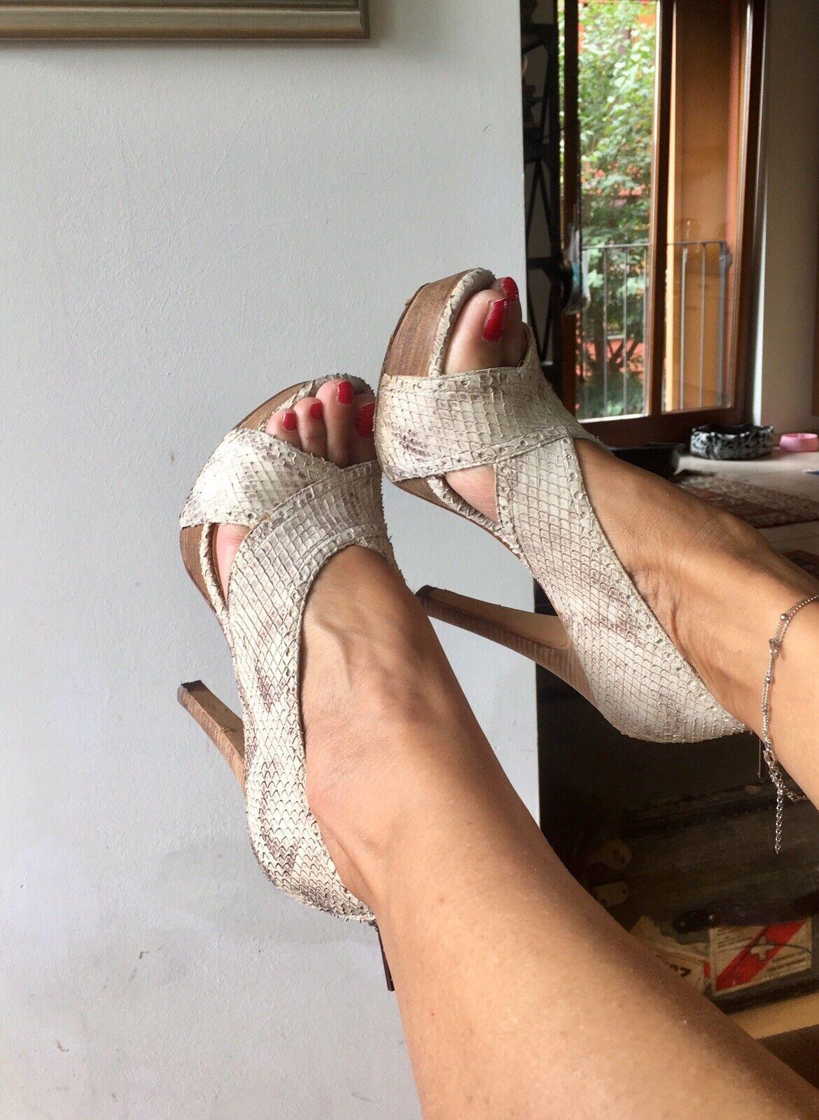 Boutique 9 Traum heels platform stiletto sandalen leder ( 210)