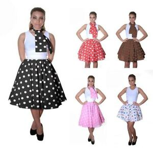 Image Is Loading Ladies Women 1950 1960 039 S Fancy Dress