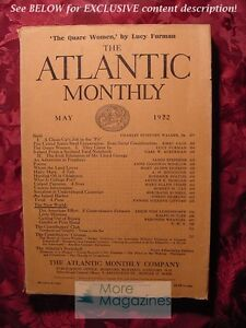 ATLANTIC-May-1922-Lucy-Furman-James-Stephens-Bertrand-Russell-Kirby-Page
