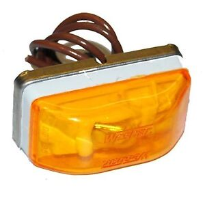 Wesbar 203234 Waterproof Combination Clearance Marker Lamp Red