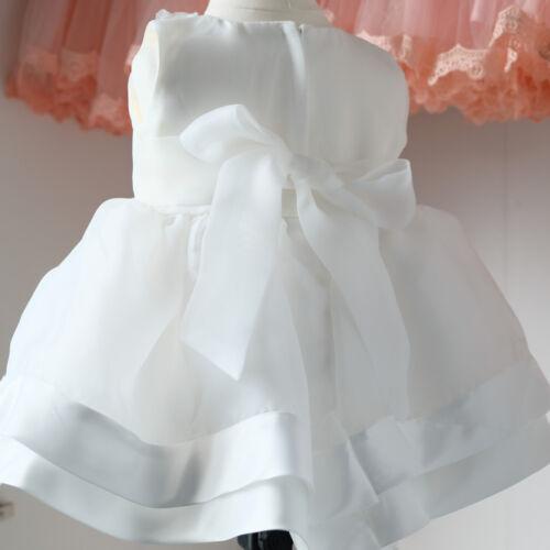 BM24 Taufkleid Festkleid Blumenmädchen Baby Kleid Gr.62-86