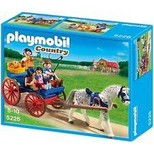 Playmobil 5226 caballo Dibujado Carro de país