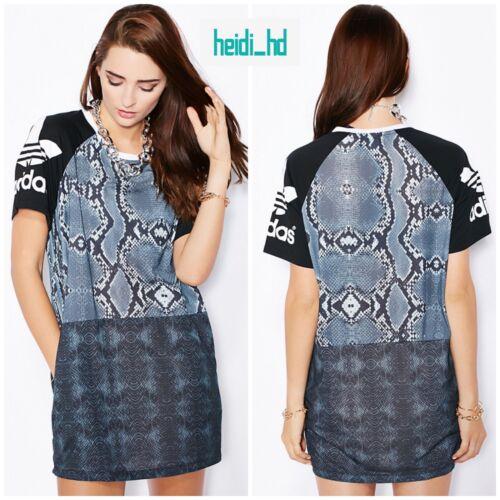 Adidas LA Snakeskins Tshirt Dress