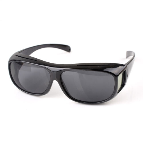 Polarized Fit Over Glasses Sunglasses Wrap Around Solar Reduce Shield for Unisex