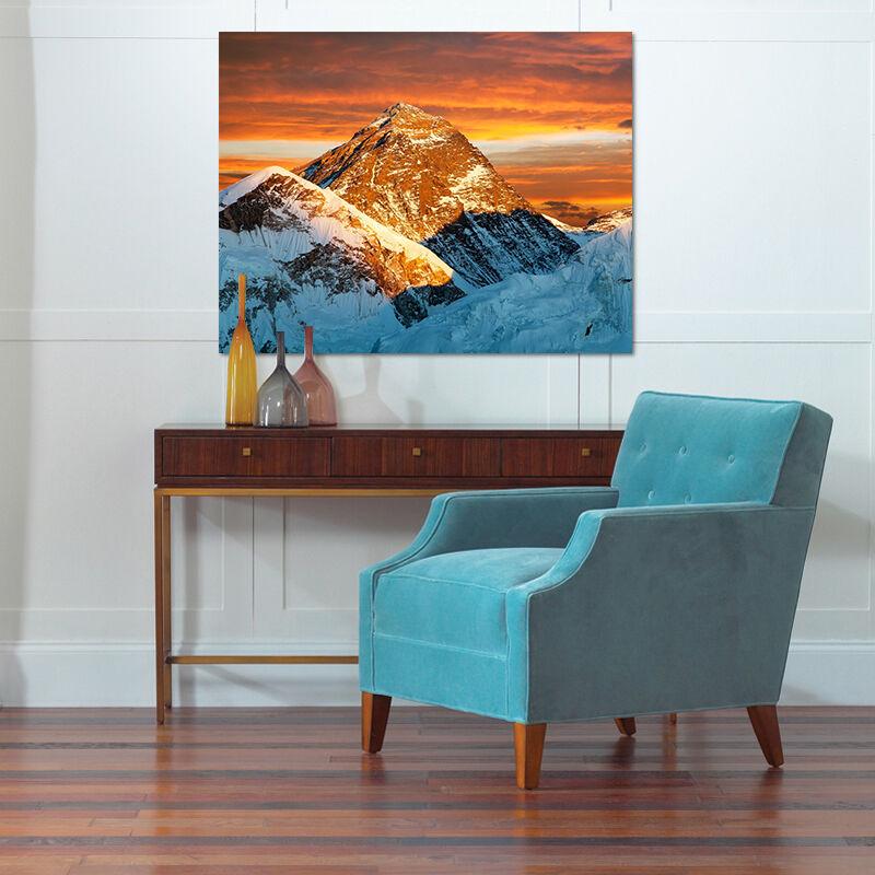 3D Abendrot Schnee Berg 886 886 886 Fototapeten Wandbild BildTapete AJSTORE DE Lemon | Günstigen Preis  461598
