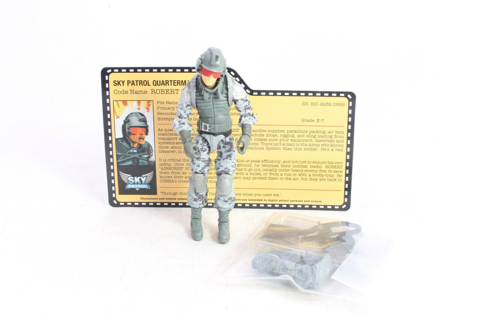 GI Joe Airborne Anniversary Convention Exclusive Sky Patrol Mint