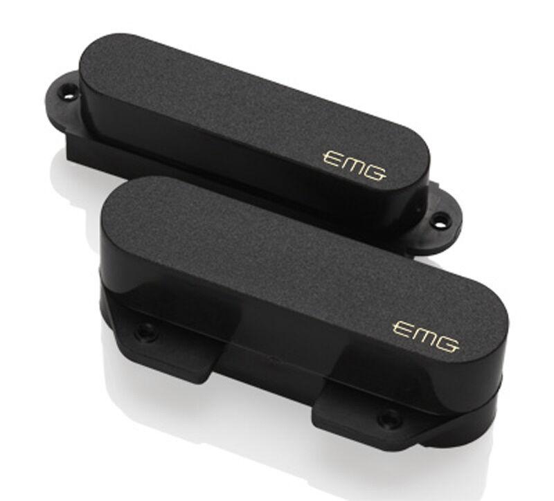 con il prezzo economico per ottenere la migliore marca EMG T Tele Attivo Set di di di Pickup - Nero  buona reputazione