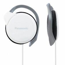 Panasonic RP-HS46 Bianco Sottile Clip-On Sopra Orecchio Stereo Cuffie iPod Lettore MP3