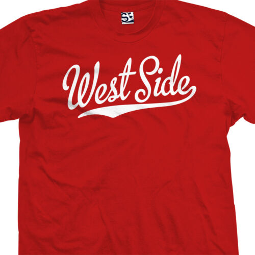 City Rep Westside Coast Tee All Sizes /& Colors West Side Script Tail T-Shirt