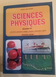SCIENCES-PHYSIQUES-SECONDE-CT-COLLECTION-JEAN-LACOURT-Annee-1978