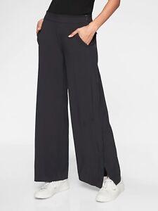 Athleta Gramercy Track Trouser Black SIZE 6                 #376009 N0130//N0622