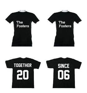 Together Since Couples T- Shirts Love Marriage Anniversary ...