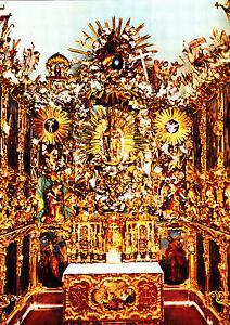 Wallfahrtskapelle-Birkenstein-Obb-Altar-mit-Gnadenbild-Ansichtskarte