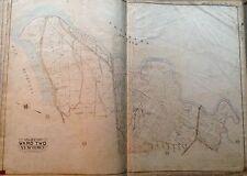 1908 FLUSHING WORLD'S FAIR SHEA STADIUM FUTURE HOME QUEENS NY LI PLAT ATLAS MAP