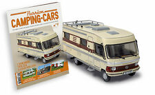Wohnwagen  Hymermobil Type 650 Mercedes Benz 1/43 New & box camping car