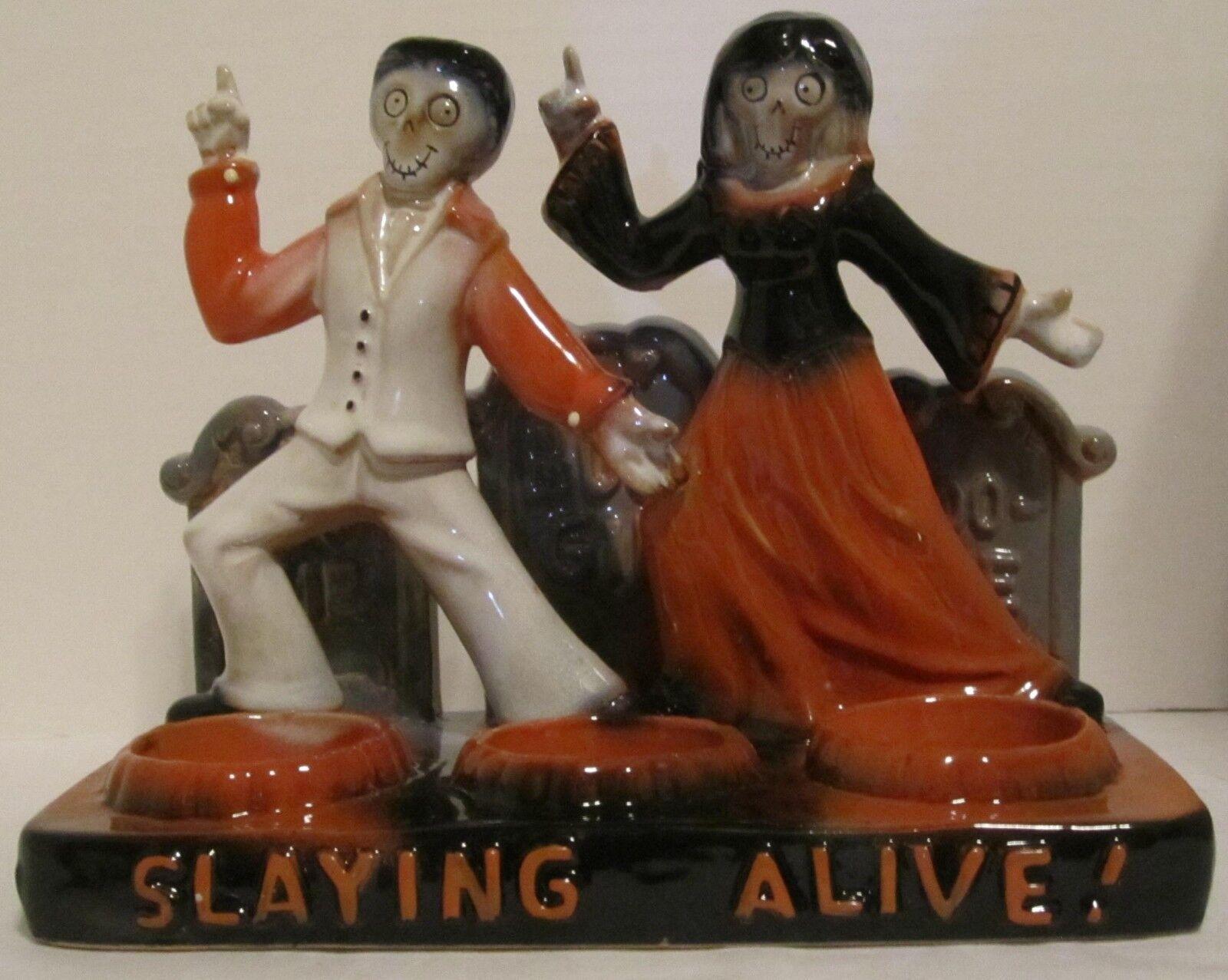 Yankee Candle Boney Bunch 2015 Slaying Alive de John Travolta Halloween T L