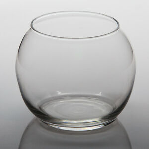 "Eastland Glass Bubble Bowl Vases 4.5"" Diameter Set of 6, Home & Event Decor"