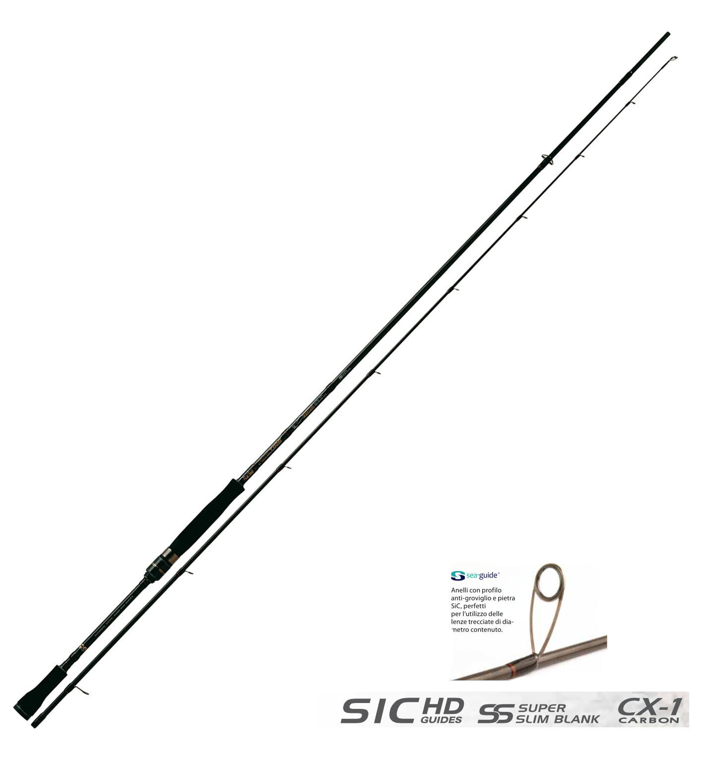 12630100 Rod Rapture Riptide Egi Spiel CX1 Carbon-Micro Spinning Pitch 246 Spinning Carbon-Micro bb7fbc