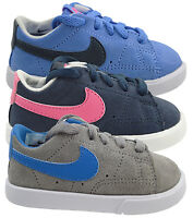 Nike Trainers Infants Girls Boys Kids Blazer Low Top Casual Sports Shoes