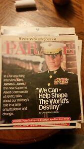 Details about Lebron james winston salem journal parade magazine sunday  January 19, 2003