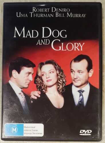 1 of 1 - Mad Dog and Glory (Robert De Niro) DVD in EXCELLENT condition (Region 2/4)