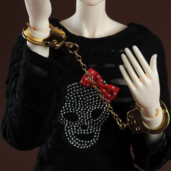 Dollmore BJD Article Model doll & SD Size - Handcuffs (Gold - N)