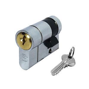 Half Euro Cylinder Profile Lock 30mm 10mm 40mm