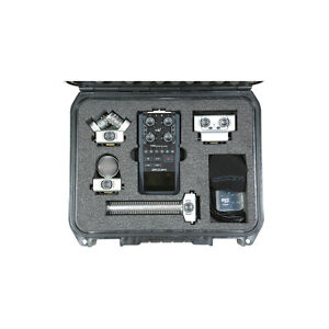 Skb Iseries Injection Molded Case For Zoom H6 Recorder W Shotgun