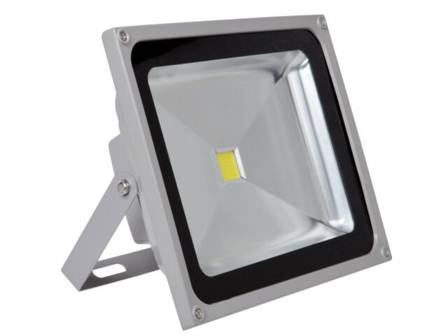 50W White High Power LED Outdoor Landscape Wash Flood Light Spotlight Waterproof