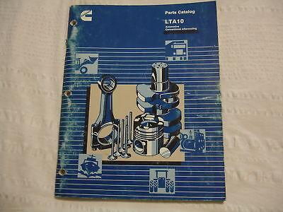 Cummins Diesel LTA10 Service OEM Parts Catalog Manual | eBay