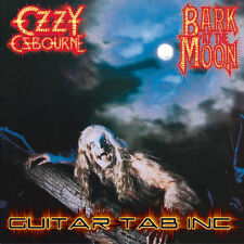 Ozzy Osbourne Digital Guitar & Bass Tab BARK AT THE MOON Lessons Disc Jake E Lee