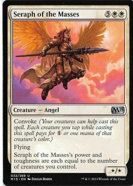 Seraph of the Suns FOIL Amonkhet NM-M White Uncommon MAGIC MTG CARD ABUGames