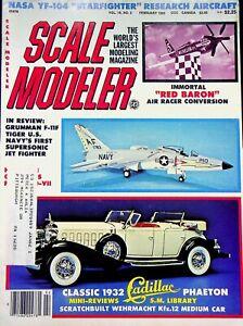 Vtg. Scale Modeler Magazine February 1981 Grumman F-11f Tiger m83