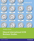 Edexcel International GCSE Business Studies Student Book with ActiveBook CD by Rob Jones (Mixed media product, 2011)