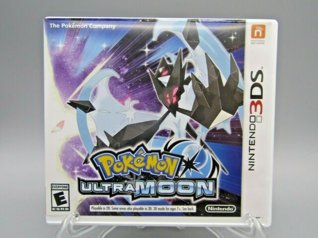 Pokemon Ultra Moon - Nintendo 3DS CASE ONLY NO GAME, Please see pics