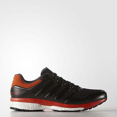 Adidas Men's Supernova Glide Boost ATR Running Shoes, Maroon/White/Black