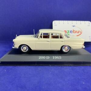 MERCEDES-BENZ-W110-200-D-1965-ANNO-1-43-SCALA-RARA-Diecast-Auto-Modello-da-collezione