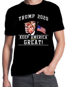 Trump-2020-Keep-America-Great-Donald-Republican-USA-Election-Mens-Black-T-Shirt