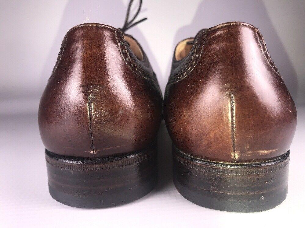 Bruno Magli Made in  Vero Vero Vero Cuoio braun Leather Oxford Lace Up schuhe Größe 8 a6c939