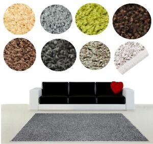Teppich-Teppichboden-modern-design-Premier-Shaggy-2cm-Hochflor-Flur-Wohnzimmer