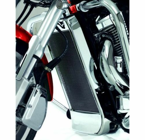 Mesh Chrome Radiator Grille fits all Honda VTX1300 C/R/S  (55-325)